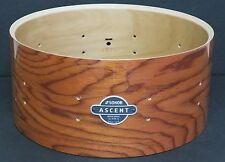 "NEW Sonor Ascent Deep 6 1/2"" x 14"" Snare Drum, Natural Finish, Heavy Beech Shell"