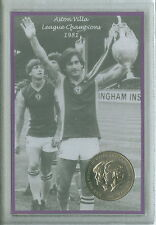 Aston Villa Vintage League Champions Retro Dennis Mortimer Coin Gift Set 1981