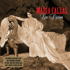 Maria Callas LA DIVINA 48 Songs PUCCINI Verdi OPERA New Sealed 3 CD