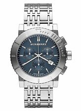 Burberry Watch, Men's Swiss Chronograph Stainless Steel bu2308