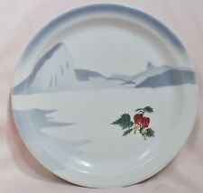 Vintage Moore Mccormack Lines Rio Seascape Plate by Sterling China