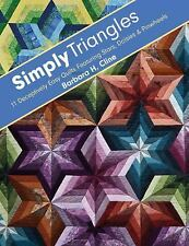Simply Triangles by Barbara H. Cline (2012, Paperback)