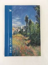 Desk Diary Reader's Digest Monet Painting Ile-St. Martin Monthly Planner Vintage