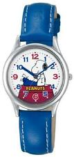 ya08303 CITIZEN Q & Q watch PEANUTS Snoopy character watch Blue AA95-9853 Ladies