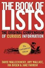 The Book of Lists, The Canadian Edition: The Original Compendium of Curious Info