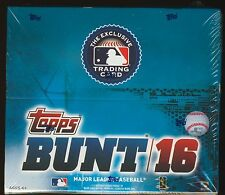 2016 Topps BUNT Baseball SEALED 36-pack RETAIL BOX