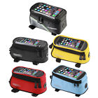 Bike Front Top Frame Pannier Tube Bag Case Pouch for Cell Phone QT