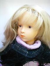 "17.5"" Olivia Gotz Sylvia Natterer Artist Collection Doll German blonde #'d NIB"