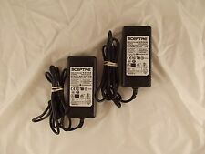 Lot of 2 Sceptre STD-1250P PS-1250APL05 12V 5A AC Adapter DD2 E