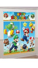 Super Mario Brothers Scene Setter Birthday Party Decorating Kit
