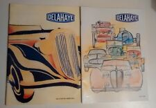 2 RARE DELAHAYE OWNERS CLUB French Magazines Mars 2000 and 2006 French