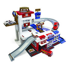 Fast Lane Rescue Station Playset