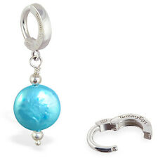 TummyToys Freshwater Pearl Dangle Belly button Ring