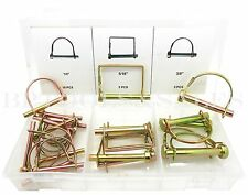 """20 Pc Safety Pin Assortment 1/4"""" 5/16"""" 3/8""""  Lawn Garden Industrial Assorted Set"""