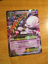 NM MEGA Pokemon M MEWTWO EX Card BREAKTHROUGH Set 64/162 XY X and Y Ultra Rare