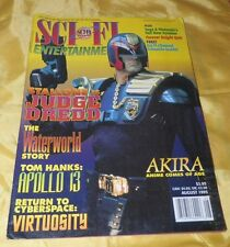 August, 1995 Sci Fi Entertainment Magazine-Stallone is Judge Dredd