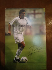 FIGO Sporting Portugal Real Madrid Barcelona SIGNED postcard