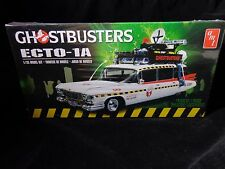 AMT GHOSTBUSTERS Ecto-1A Plastic Model Car Kit-1/25 Scale#750 Model Car SwapMeet