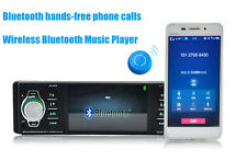 4.1'' Stereo Single Din In Dash Car FM/AM Radio MP3 MP5 Player iPOD AUX USB SD