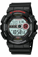 Casio G-Shock GD-100-1A Black Original Men's Black Watch 200M Diver  GD-100