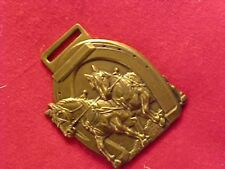 ORIGINAL VINTAGE DRAFT HORSE JOURNAL WATCH FOB