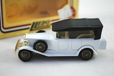 LLEDO Special ROLLS-ROYCE with Hood in WHITE AND BLACK Colour MIB