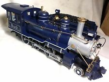Bachmann G-Scale B&O ROYAL BLUE 4-6-0 Steam Locomotive 1332 & Tender
