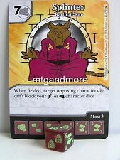 Dice Masters - #045 Splinter Radical Rat - Teenage Mutant Ninja Turtles
