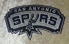 "San Antonio Spurs NBA 3.5"" Iron On Embroidered Patch~USA Seller~FREE Ship"