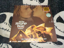 All the Mornings of the World Laserdisc LD Gerard Depardieu Free Ship $30 Orders
