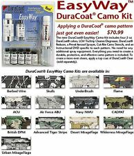 DuraCoat Firearm Finish - Easyway Camo Kit - Barbed Wire
