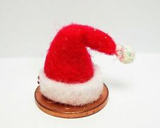 1:12th Scale Small Santa Hat  Doll house Miniatures