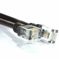 15M ADSL 2+ High Speed Broadband Modem Cable RJ11 to RJ11 15 Metre LONG BLACK