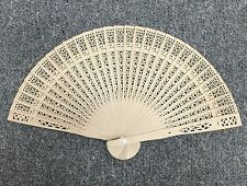 Chinese Japanese Folding Fan Bamboo Hand ! U.S. Seller