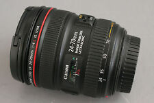 Mint Used Canon Zoom Lens EF 24-70mm 1:4 L IS USM (20097)
