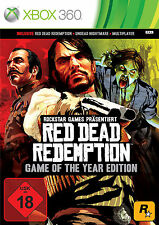 Microsoft XBOX 360 Spiel Red Dead Redemption Game of the Year Edition*NEU*NEW*18
