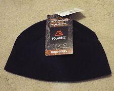 NWT US Army Black ECWCS Polartec Classic Micro Fleece Watch Cap Hat Beanie CW