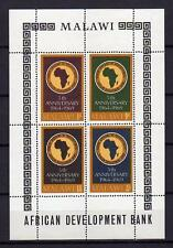 A8030) MALAWI 1969  African Development Bank  S/S   MNH**