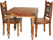 Brand New Jali- Indian Solid Sheesham Wood- DINING TABLE AND 4 CHAIRS