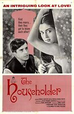 The Householder 1963 Merchant/Ivory US one-sheet movie poster