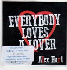 (FJ904) Alex Hart, Everybody Loves A Lover - 2014 DJ CD