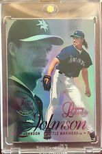 1997 Flair Showcase Legacy MASTERPIECE 1/1 Randy Johnson