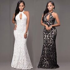 Formal Prom Dress Cocktail Women Long Evening Bridesmaid Party Ball Gown Dresses