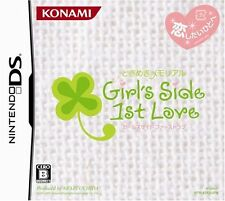 Used Nintendo DS Tokimeki Memorial: Girl's Side 1st Love Japan Import
