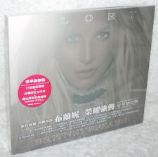 Britney Spears Glory (Deluxe Explicit) Taiwan CD w/BOX (17-trks)