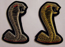 Custom Classic Car Upholstery Embroidery Patch Logo Emblem Name Crest Seal Brand