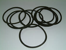 10 Rubber Washers 60mm O/D X 53mm I/D X 1.3mm Thk