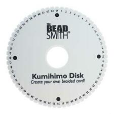 "6"" - 64 Slot Kumihimo Round Disk 35mm hole, 20mm thick"