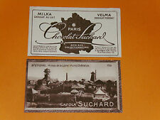 CHROMO PHOTO CHOCOLAT SUCHARD 1928 FRANCE SAINT-ETIENNE MINES CHATELUS LOIRE 42