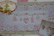 NEW CrabApple Hill Keepsake Garland Wallhanging PATTERN Sewing Embroidery